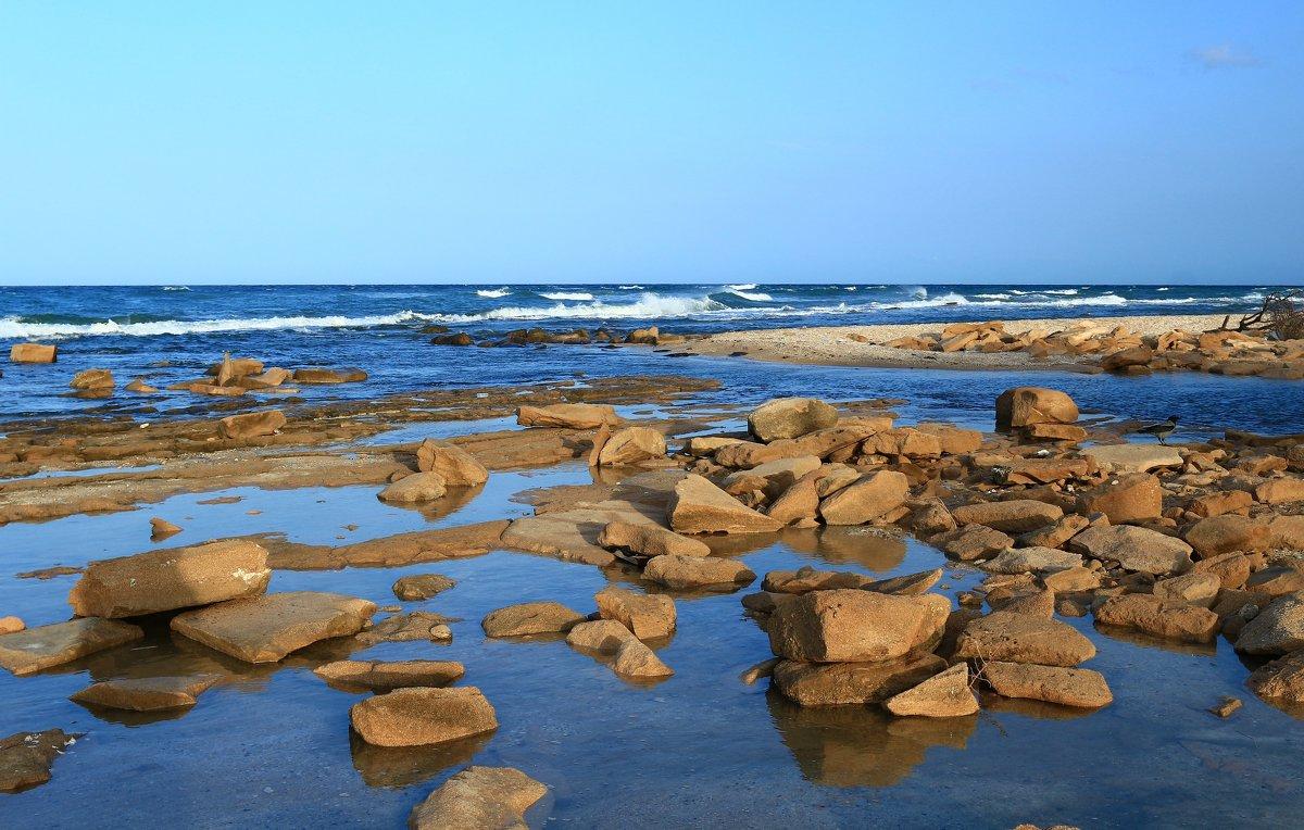 каменистый берег - evgeni vaizer