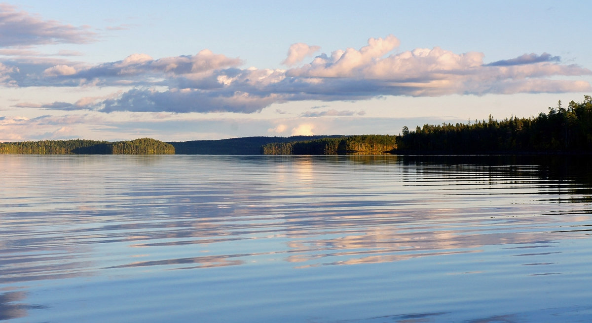 озеро охтанъярви рыбалка видео
