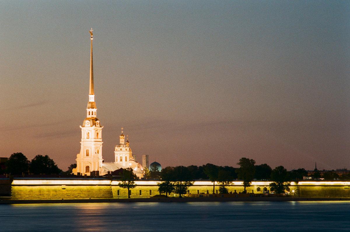 Петропа́вловская кре́пость (плёночное фото) - Евгений Дмитриев