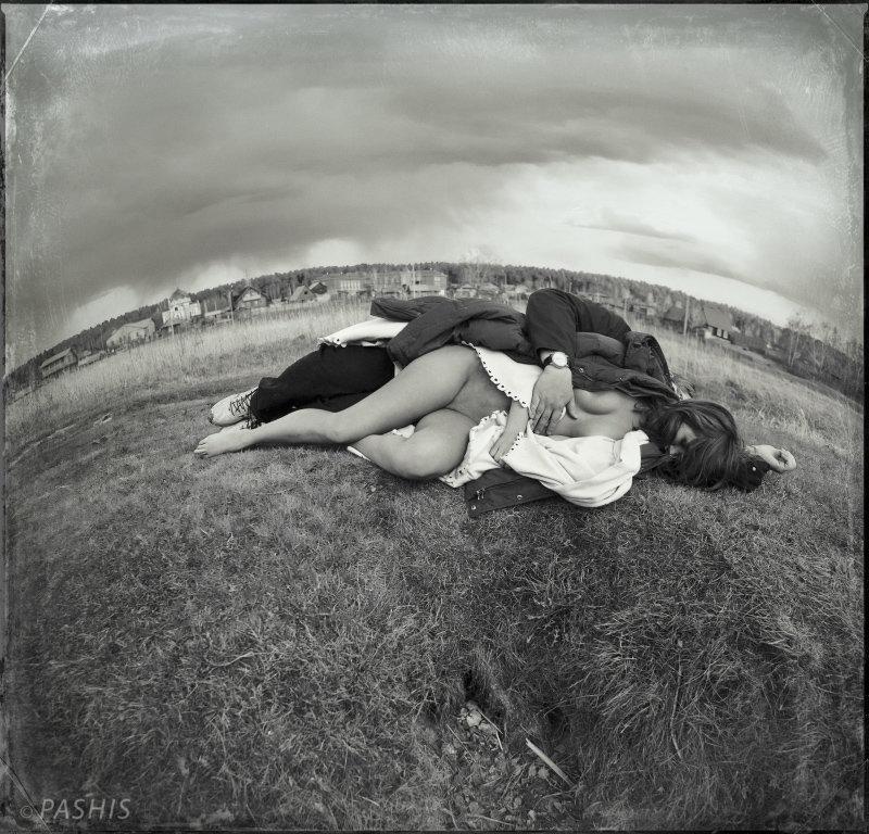 Sleeping Near the Shallows of the River (Спящие у Обмелевшей Реки) - Андрей Пашис