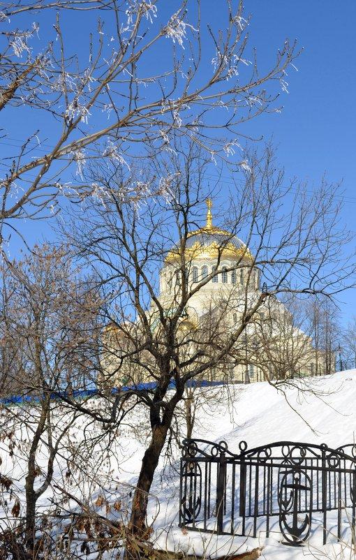 Зима у Морского собора - Ольга
