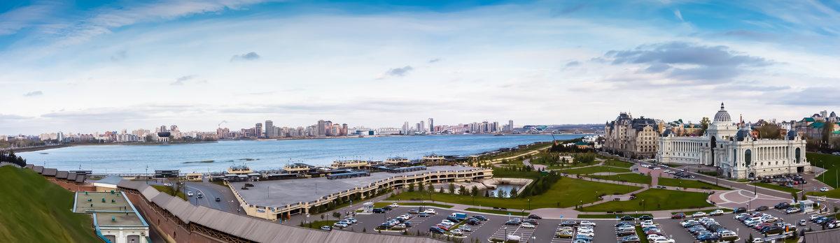 Панорама вид с Казанского кремля - Nguyen Trung
