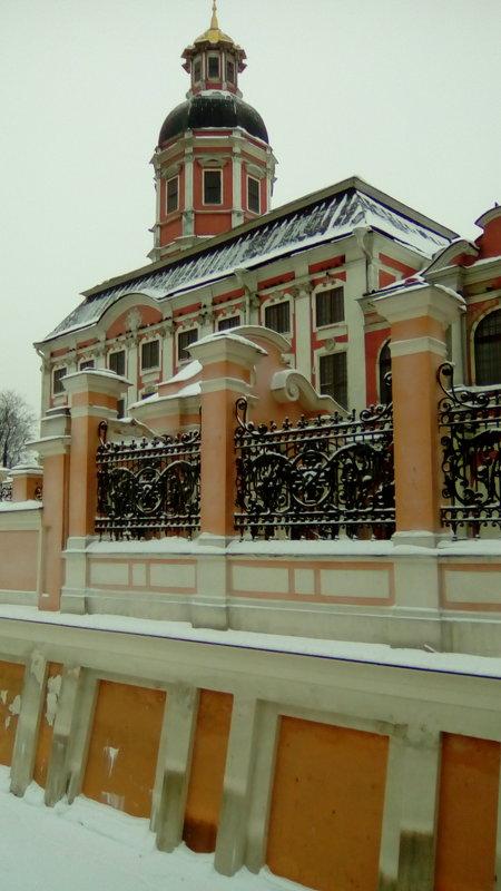 Вид на Александра-Невскую Лавру. - Светлана Калмыкова