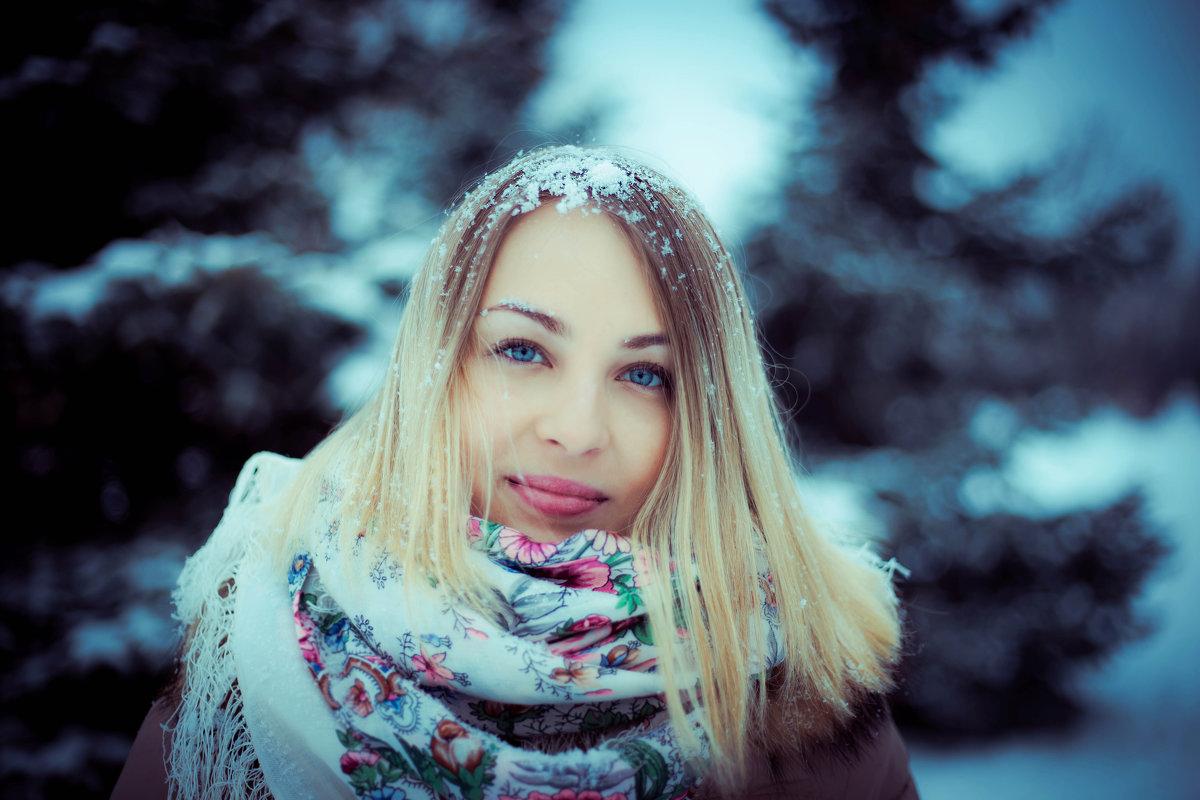 Winter character - Анастасия Аникеенко