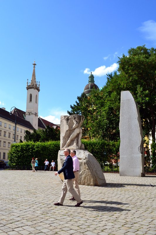 Прогулки по Вене - Ольга