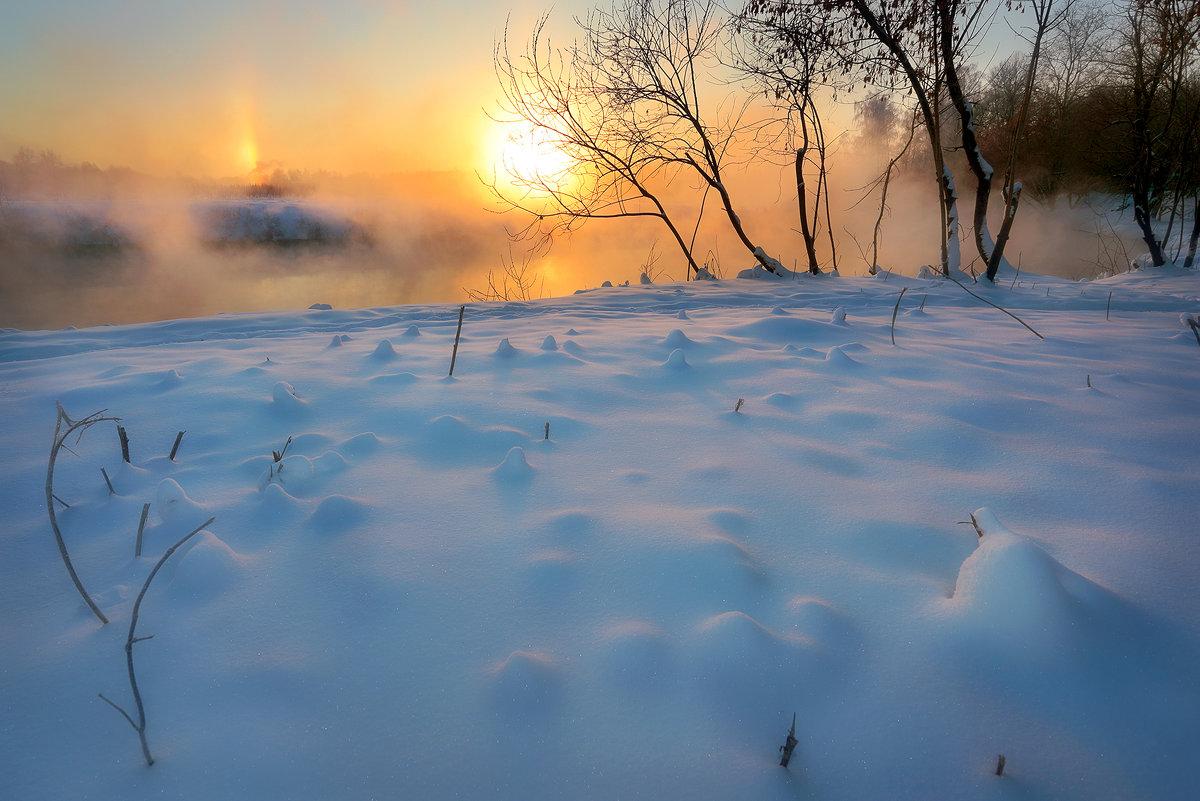 Морозный рассвет января... - Андрей Войцехов