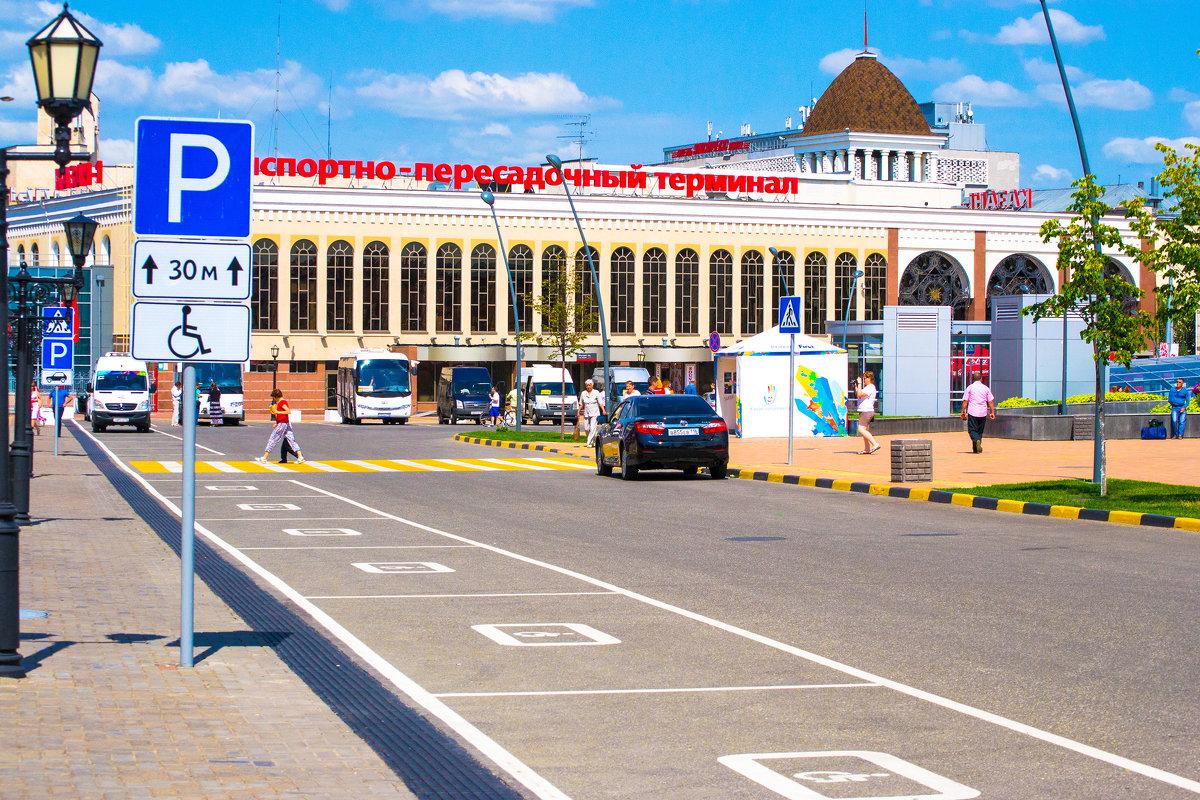 ЖД вокзал в Казани - Хафиз Сабиров