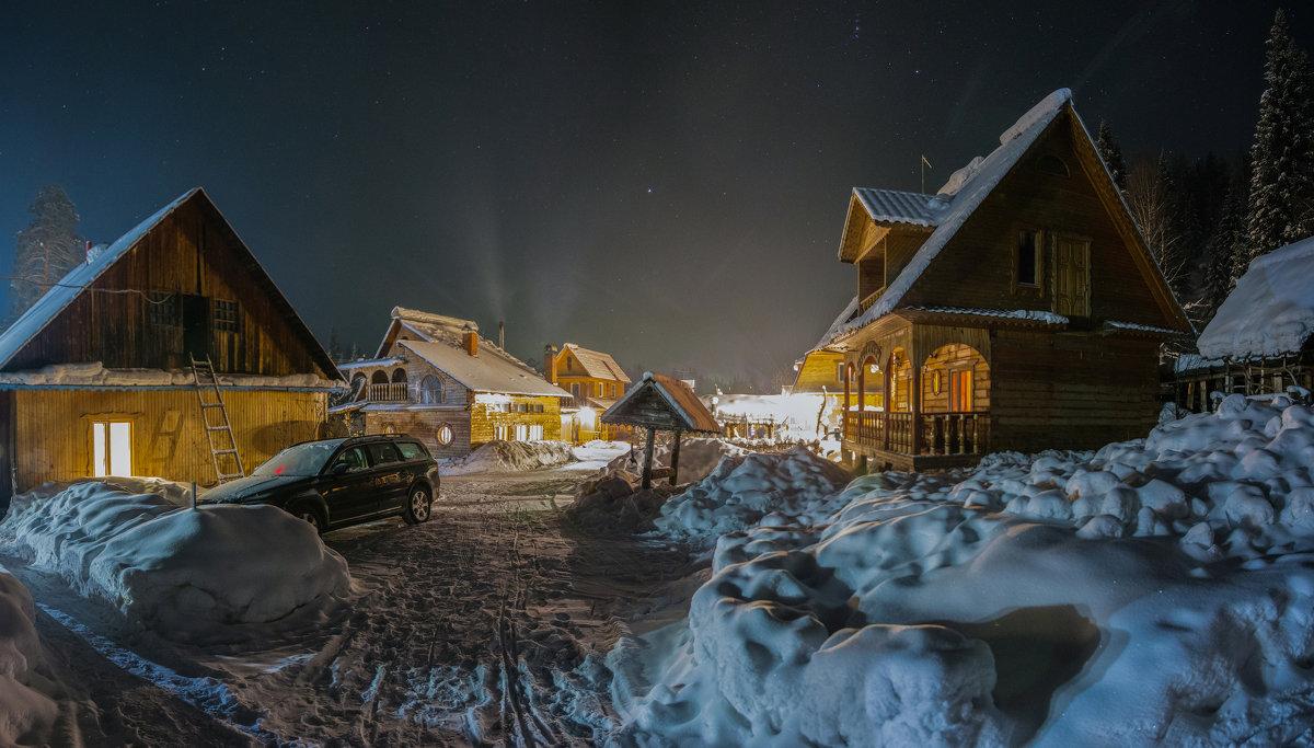 Ночь опустилось на усадьбу - Sergey Oslopov
