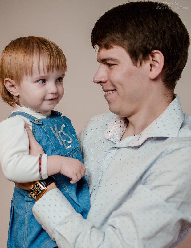 Новогодняя фотосессия для маленькой Маши - Таня Ланская