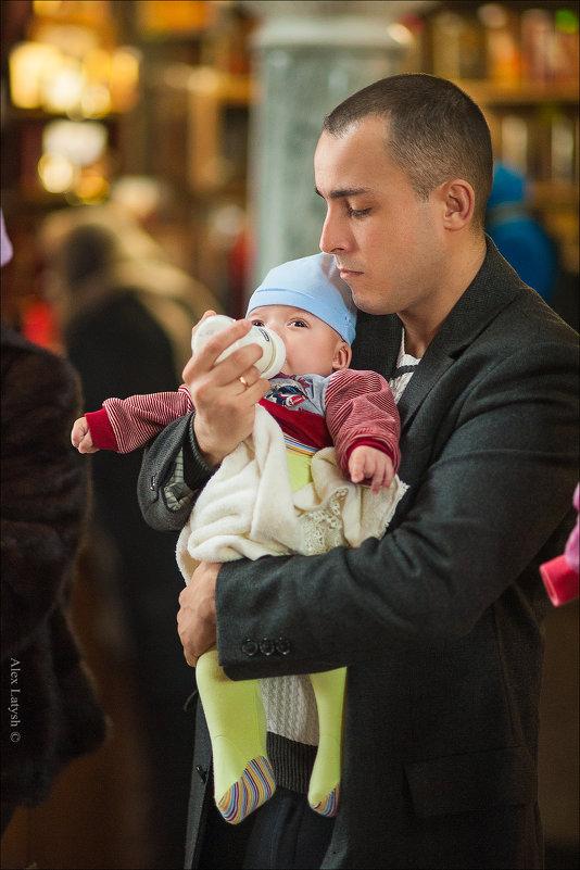 Любой может стать отцом, но только особенный становится Папой :) - Алексей Латыш