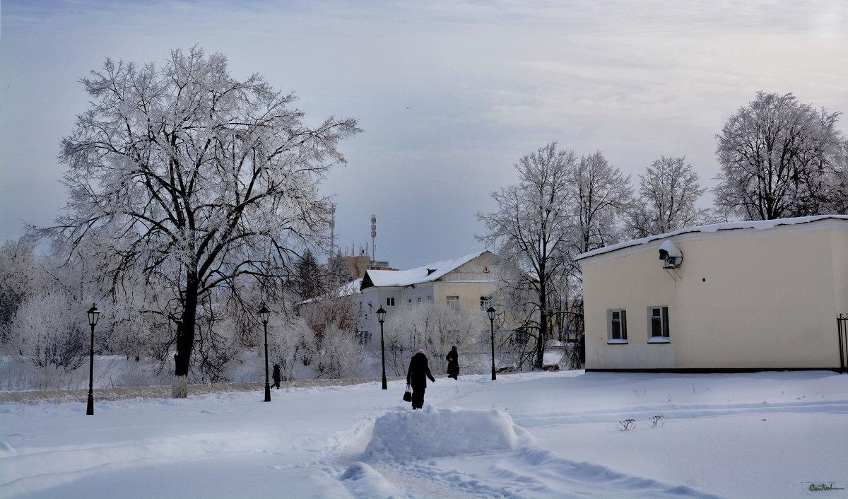 Зима в городе - Юрий