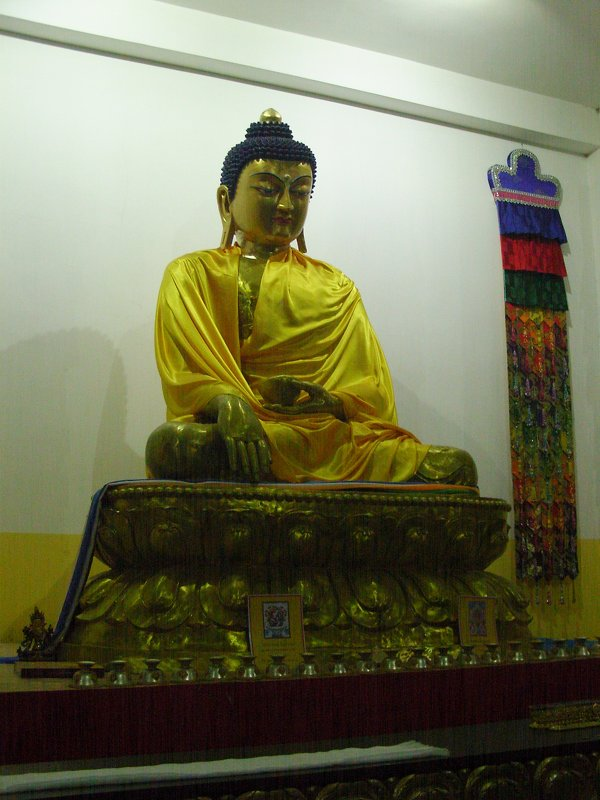Статуя Будды Шакъямуни - Виктор Мухин