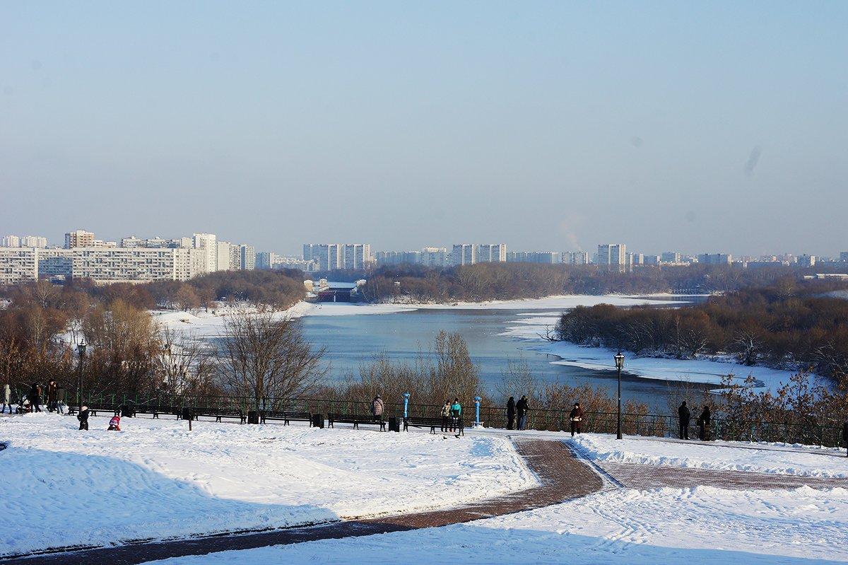Вид на Москву-реку от Церкви Вознесения Господня - Елена Павлова (Смолова)