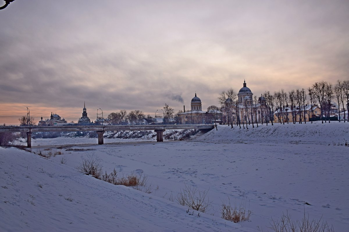 Зимний вечер. - vkosin2012 Косинова Валентина