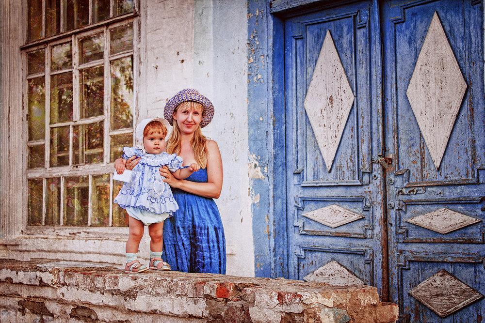 Прогулка с дочкой - Татьяна Михайлова