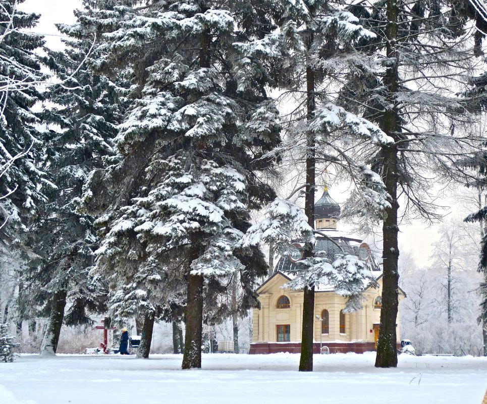 зимой - Елена