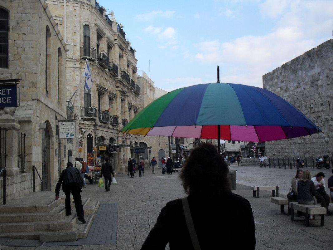 Наш экскурсовод. Внутри Старого города в Иерусалиме. - Надежда
