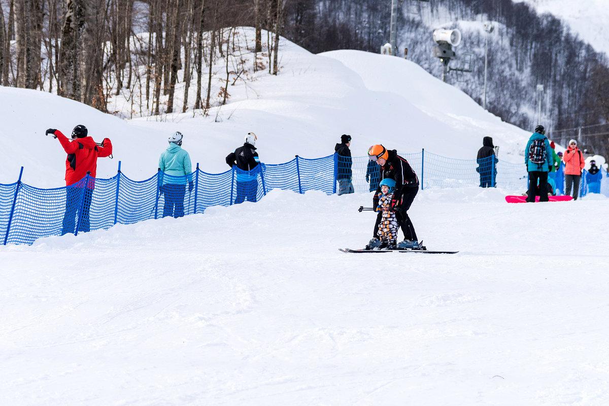 Первая лыжня. - Геннадий Оробей