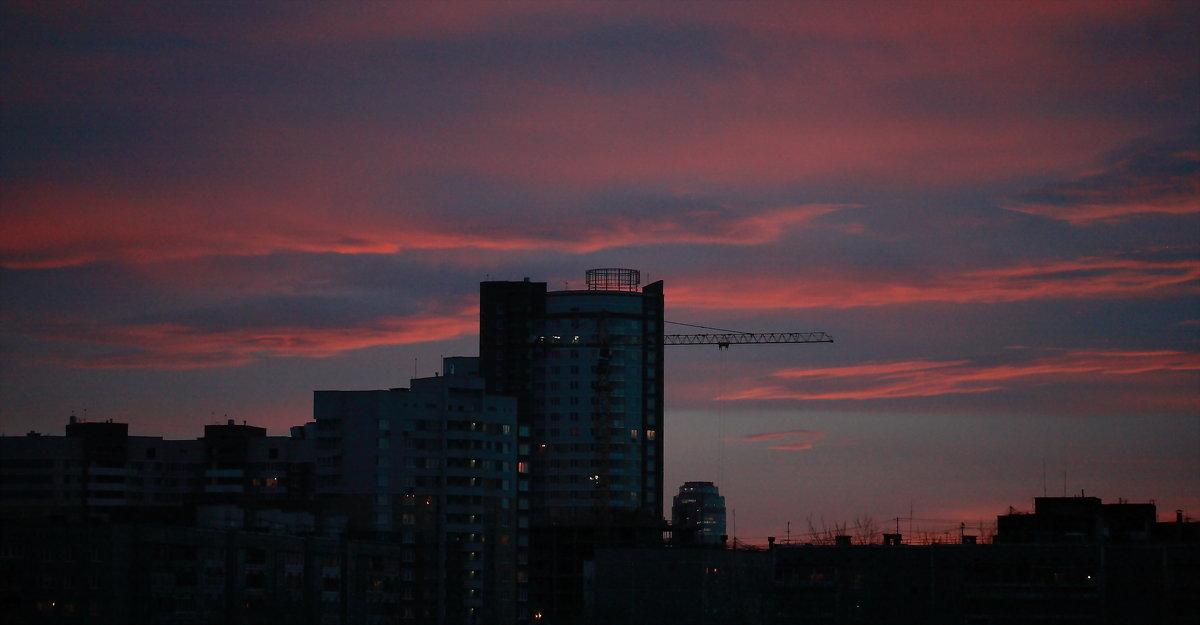Закат в Екатеринбурге - Александр Коликов