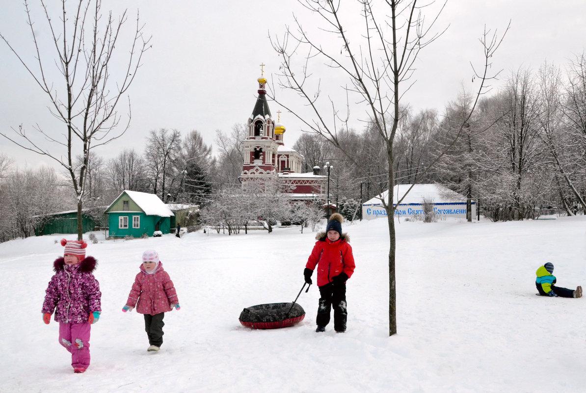 В крещенские морозы - Николай Ярёменко