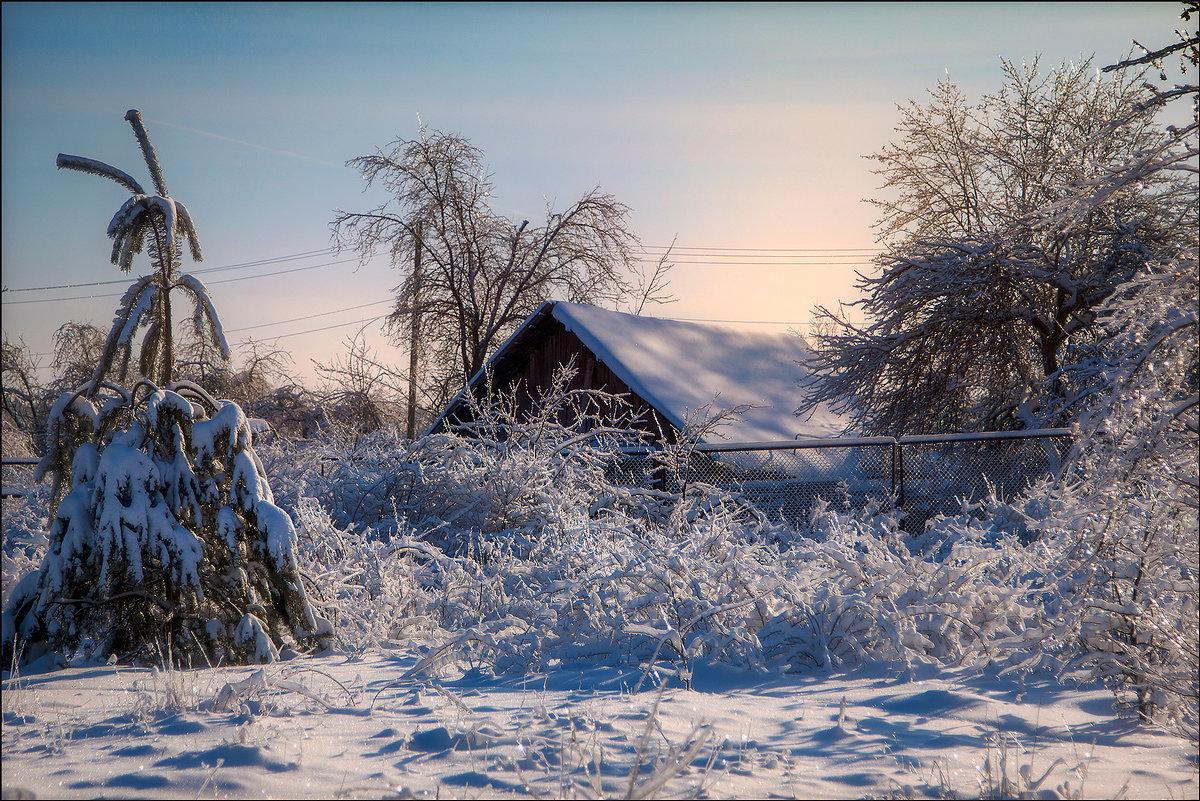 Зима в деревне - Елена Ерошевич