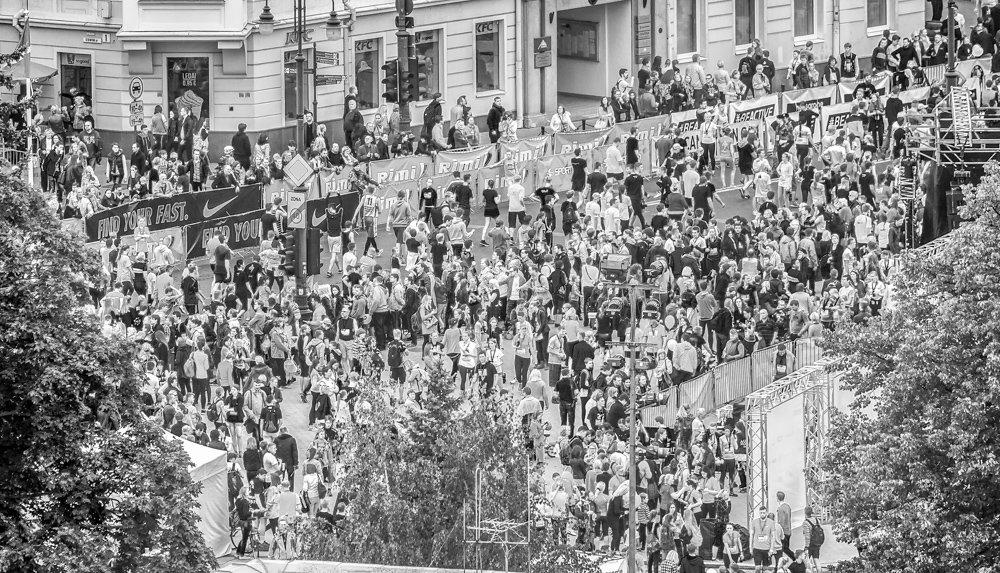 Марафон в Вильнюсе - MVMarina
