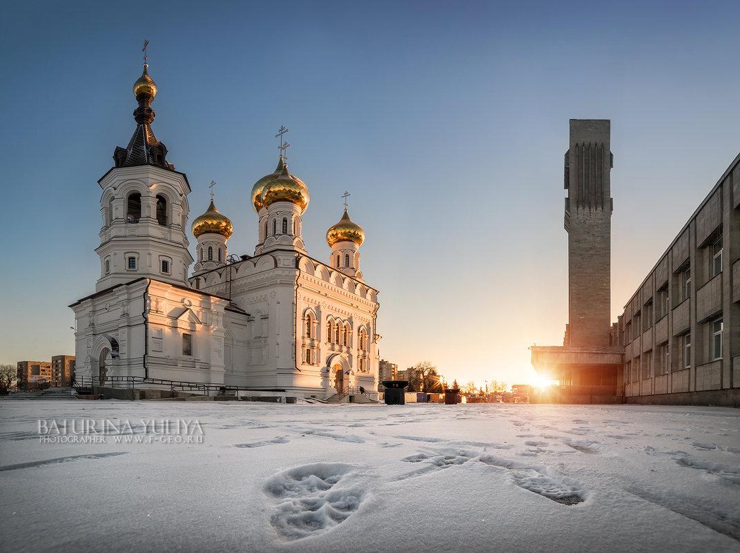 Храм Александра Невского у вокзала - Юлия Батурина