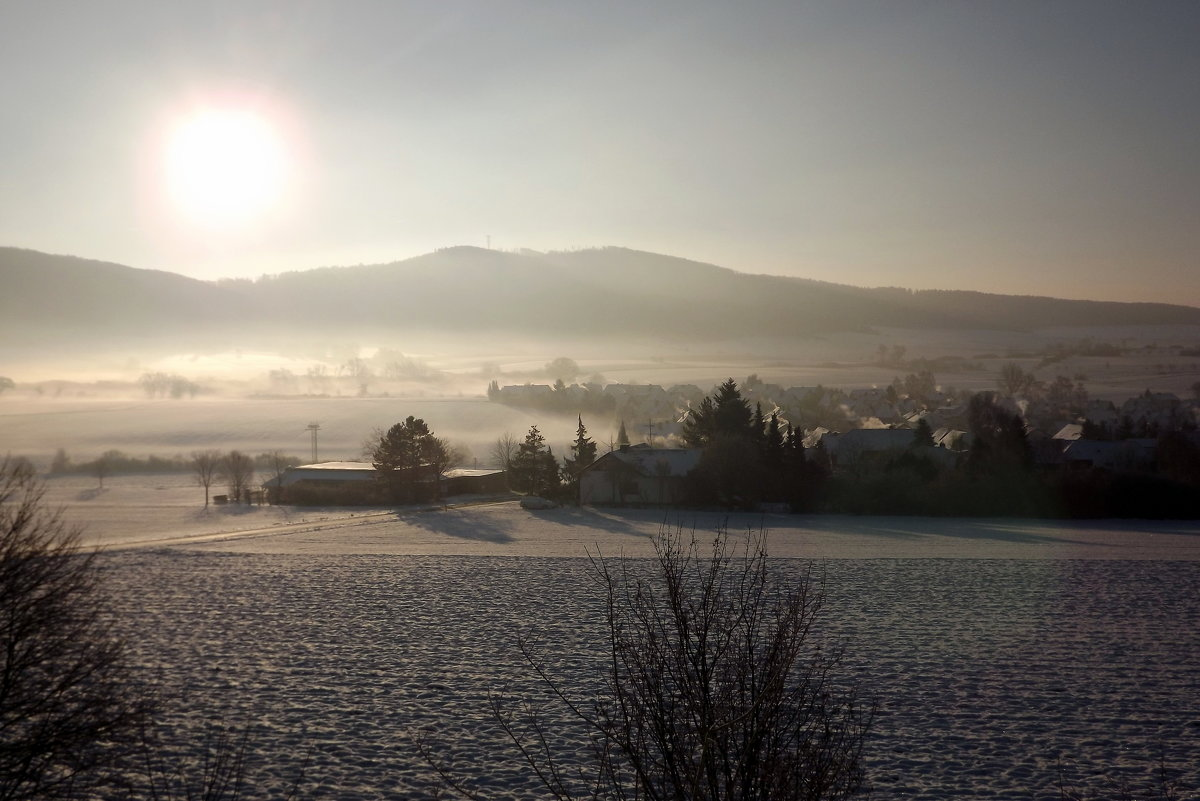 Зима в Баварии - Эдвард Фогель