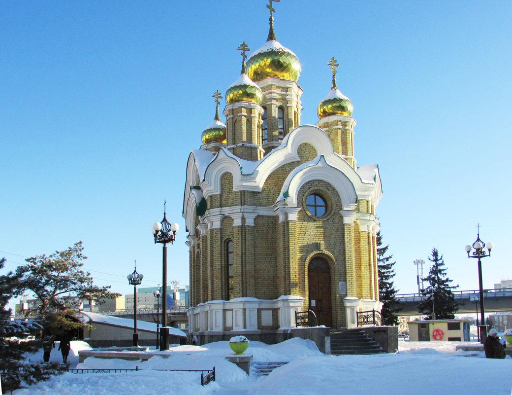 Церковь Иоанна Крестителя - раиса Орловская