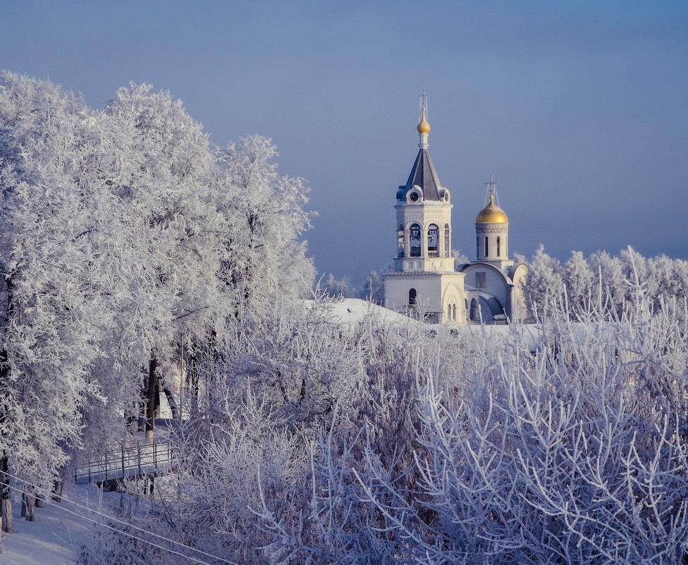 Иней во Владимире - Дарья Киселева