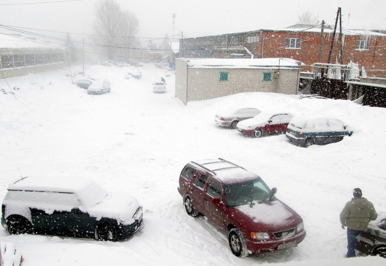 Снегопад - Геннадий Храмцов