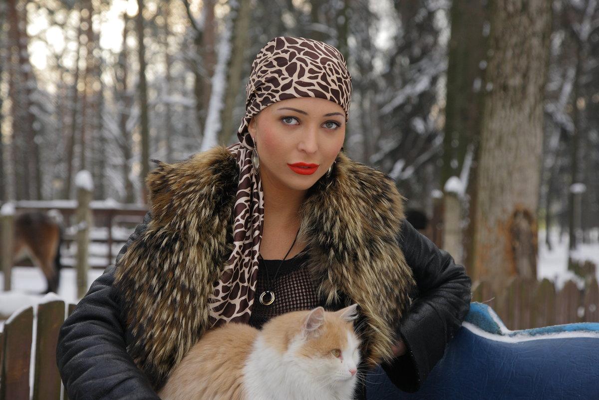 Зима - М. Дерксен Derksen