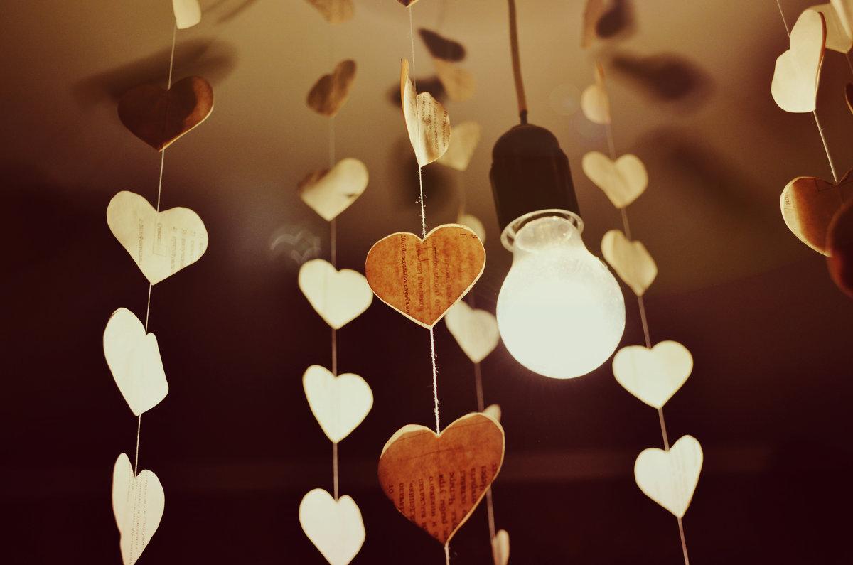 Бумажные сердечки - Леся Орлова
