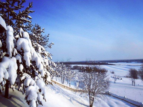 Середина зимы в Коми - Николай Туркин