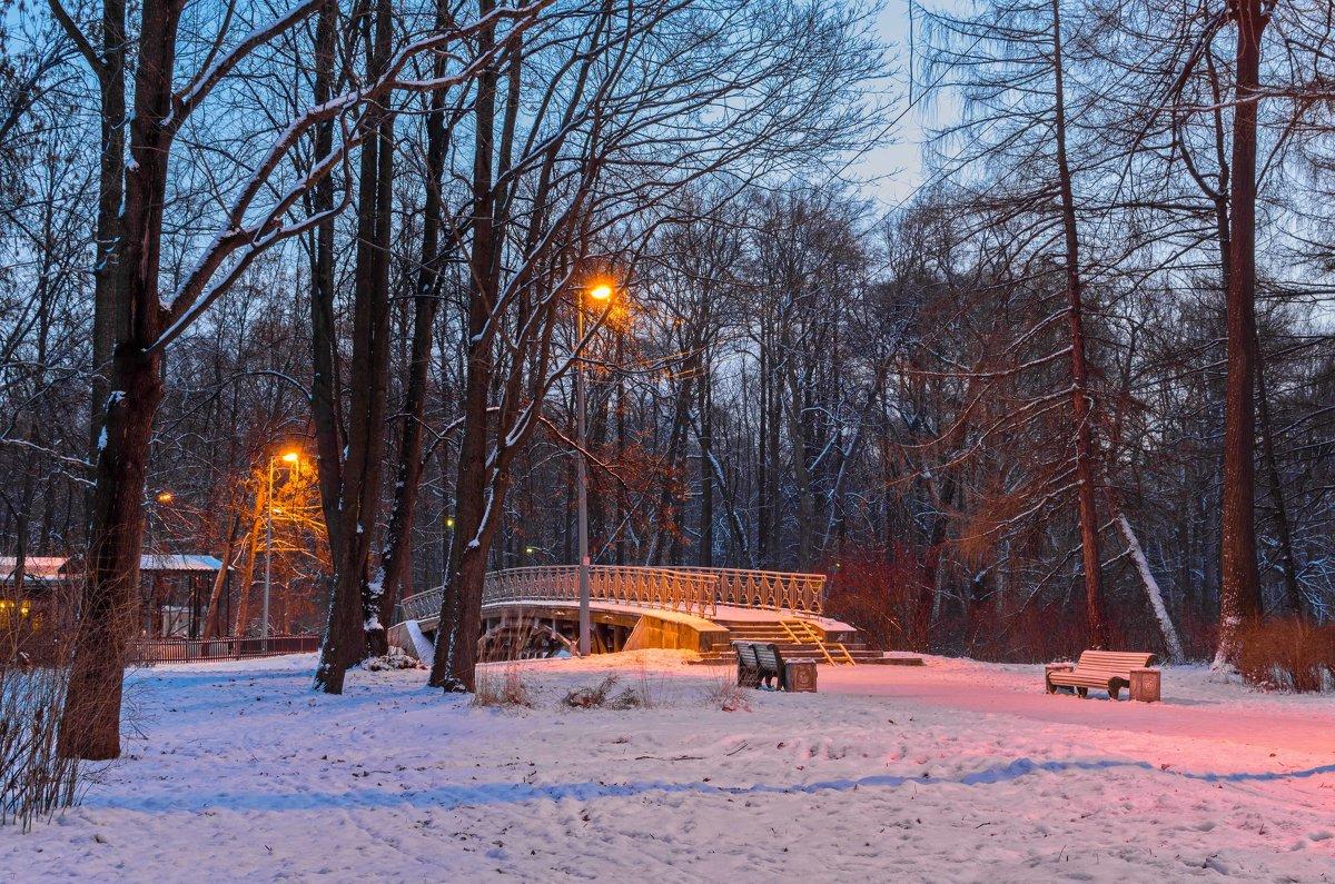 Утро в парке - Константин Бобинский