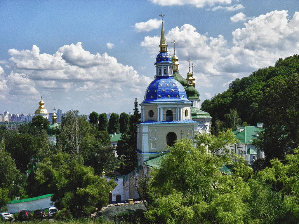 Выдубицкий монастырь - Владимир Бровко
