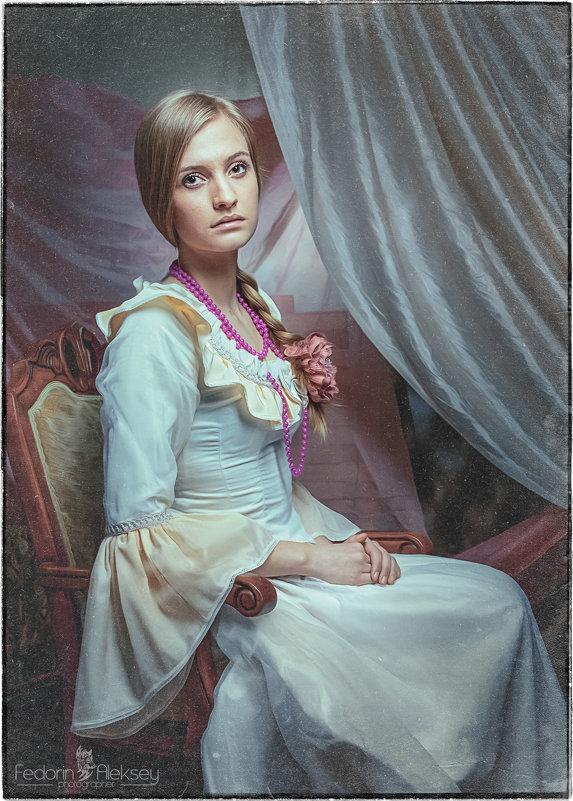 Портрет девушки ... - АЛЕКСЕЙ ФЕДОРИН
