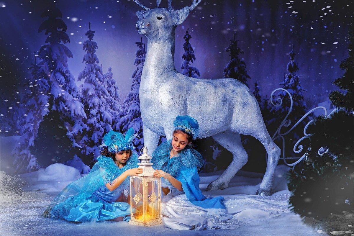 Зимняя сказка - Нина Малиннина