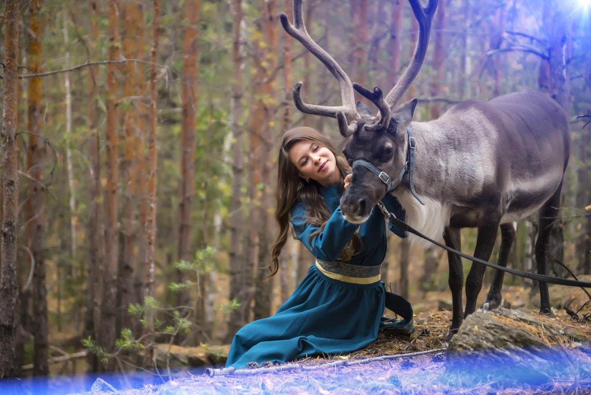 В лесу как в сказке - Нина Шмакова