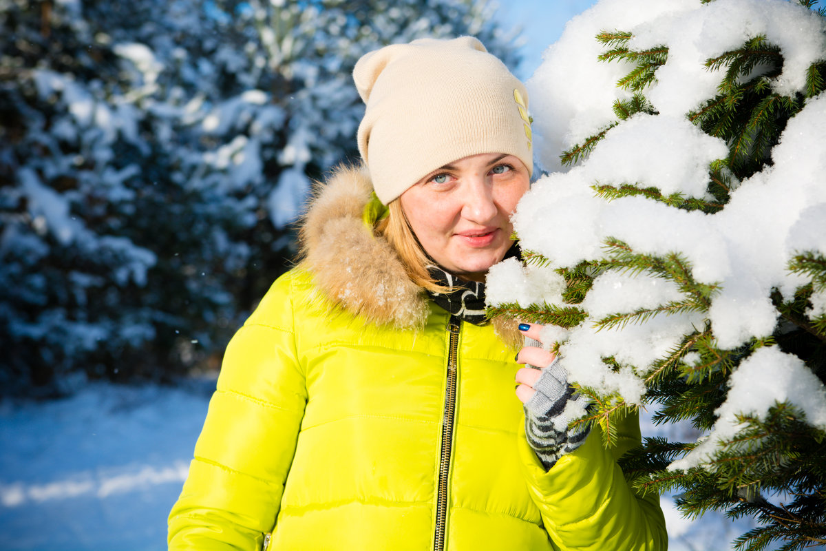 Зима - Инта