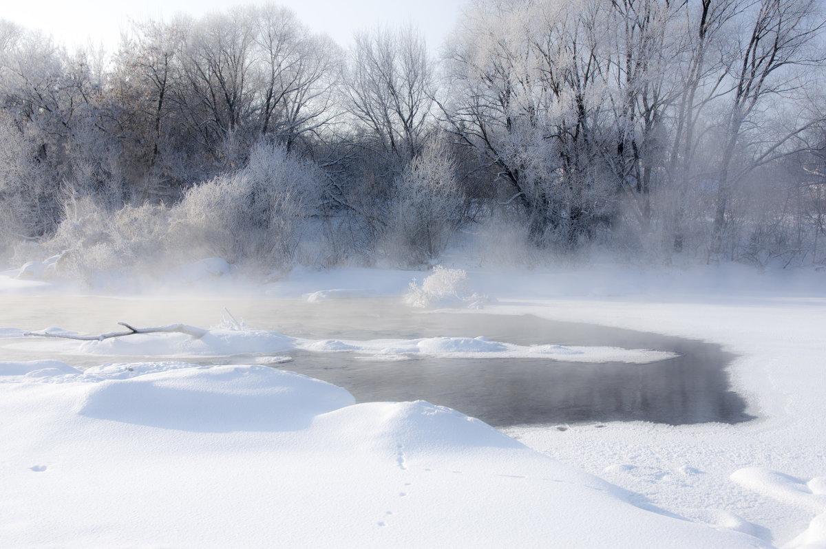 мороз над рекой - Андрей Студеникин