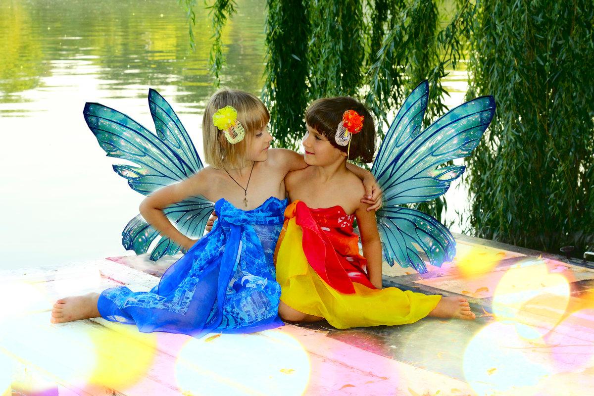 Подружки-Бабочки - Татьяна
