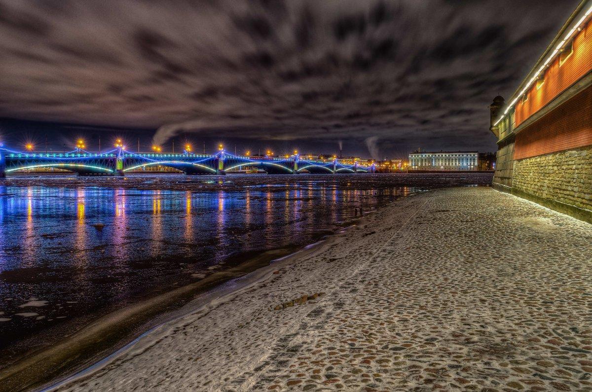 Вечерний пейзаж - Константин Бобинский