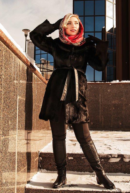 Зима в городе - Екатерина