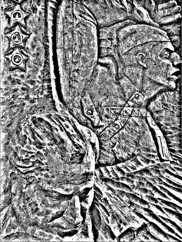 черно-белый рисунок - Юлия Денискина
