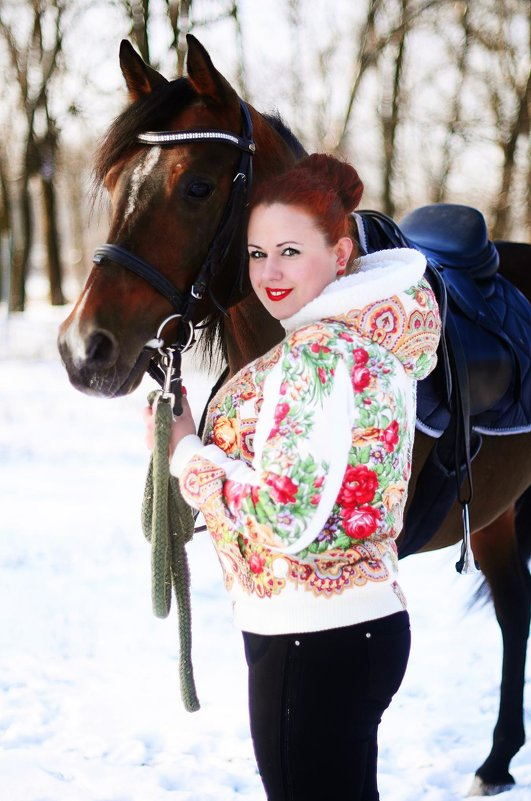 Русская зима - devazemlia