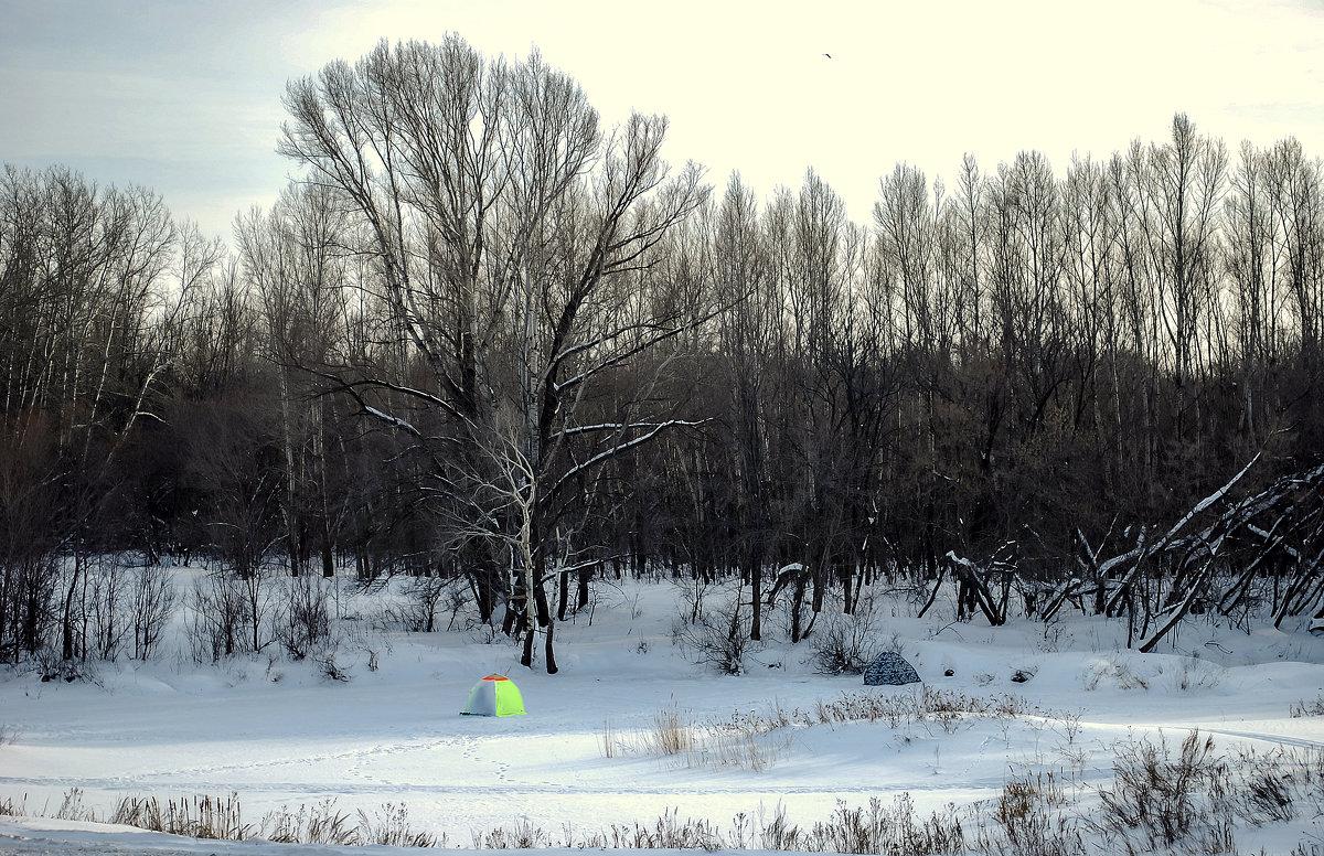 Зимняя рыбалка - развлечение для сильных духом!!! - Elena Izotova