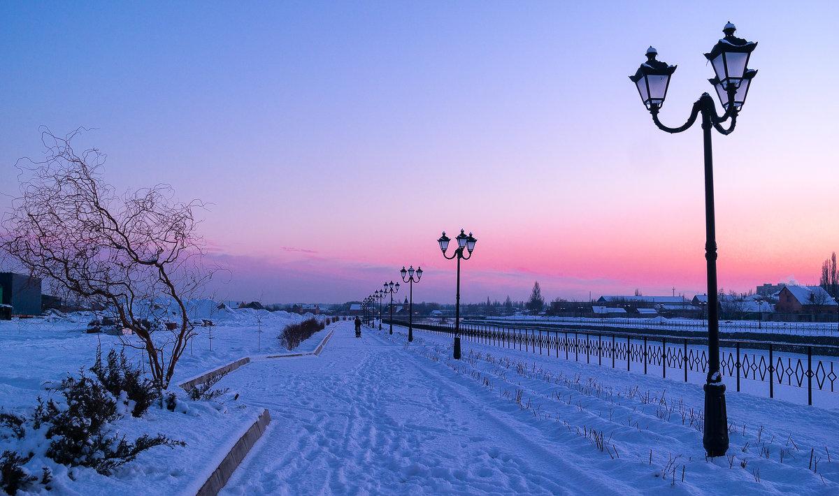 морозный вечер - Сергей
