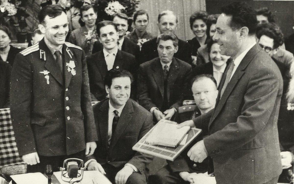 Первый  космонавт  Юрий  Гагарин  и  диктор  Юрий  Левитан - Юрий  БЕЛКИН