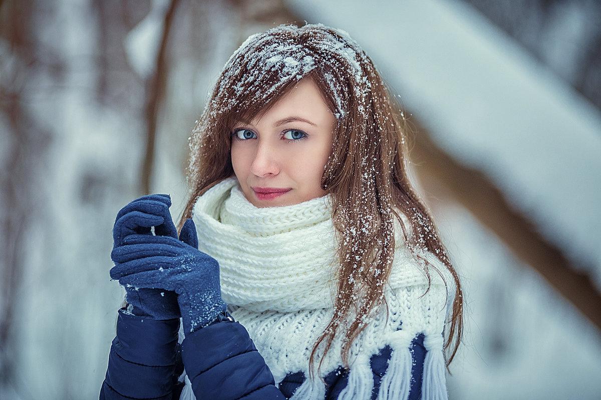 фотосессия в зимнем лесу - Юлия Рожкова
